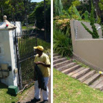 Painting boundary wall in Westville